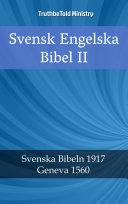 Svensk Engelska Bibel II