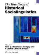 download ebook the handbook of historical sociolinguistics pdf epub