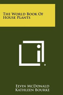 The World Book of House Plants