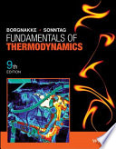 Fundamentals of Thermodynamics  9th Edition