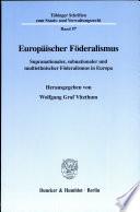Europäischer Föderalismus