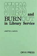 Stress and burnout in library service