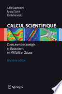illustration du livre Calcul Scientifique