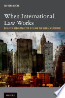 When International Law Works