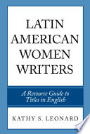 Latin American Women Writers