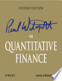Paul Wilmott on Quantitative Finance