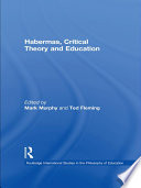 Habermas  Critical Theory and Education