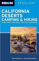 California Deserts Camping and Hiking