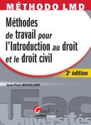 illustration Méthodes de travail pour l'introduction au droit et le droit civil