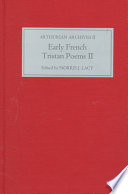 Early French Tristan Poems