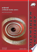 O level Additional Mathematics Critical Study Notes  Concise   Yellowreef