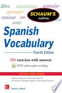 Schaum s Outline of Spanish Vocabulary 4E EBOOK