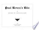Book Paul Revere s Ride