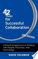 42 Rules For Successful Collaboration 2nd Edition