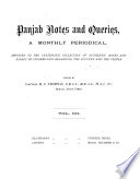 Indian Notes and Queries Book PDF