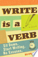 Write Is a Verb