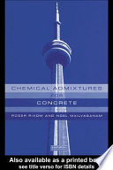 Chemical Admixtures for Concrete  Third Edition