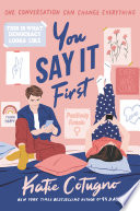 You Say It First Book PDF