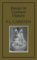 50 essay german hambledon history history in press series v The hambledon press london and rio grande historical essays and studies (london political and architectural achievements in the eleventh and twelfth centuries medieval historians 1978) german history in marxist perspective (london hodges arnoldthat is the period from which.