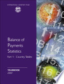 Balance of Payments Statistics Yearbook, 2007