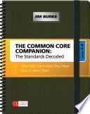The Common Core Companion  The Standards Decoded  Grades 6 8