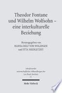 Theodor Fontane und Wilhelm Wolfsohn  eine interkulturelle Beziehung
