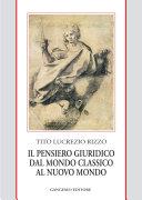 download ebook il pensiero giuridico dal mondo classico al nuovo mondo pdf epub