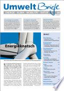 Zeitschrift UmweltBriefe Heft 09/2015