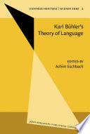 Karl B  hler s Theory of Language Karl B  hlers Sprachtheorie