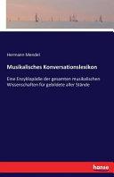 Musikalisches Konversationslexikon