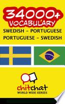 34000  Swedish   Portuguese Portuguese   Swedish Vocabulary
