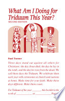 What Am I Doing for Triduum This Year