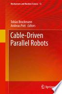 Cable Driven Parallel Robots