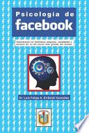 Psicolog  a de Facebook