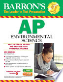AP Environmental Science, 6th ed.