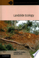 Landslide Ecology Ecological Aspects Is Essential For Achieving