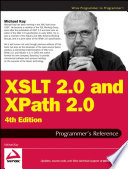 Xslt 2 0 And Xpath 2 0 Programmer S Reference book