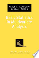 Basic Statistics in Multivariate Analysis