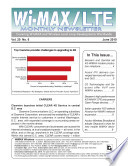 Wimax Monthly Newsletter June 2010