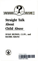 Straight Talk About Child Abuse