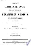 Jahresbericht über die fortschritte der gesammten medicin in allen ländern...[1841]-65