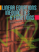 Linear Equations  Inequalities    Functions