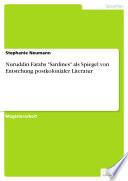 """Nuruddin Farahs """"Sardines"""" als Spiegel von Entstehung postkolonialer Literatur"""