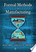 Formal Methods in Manufacturing