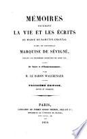 Mémoires touchant le vie et les écrits de Marie de Rabutin-Chantal