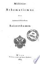Militär-Schematismus des österreichischen Kaiserthumes