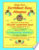 Rising Stars Earthbeat Easy Almanac 2017 2018 13 Round House Yellow Leaderself Quad Almanac Playbook Ii Of Iv book
