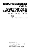 Confessions of a Corporate Headhunter Book PDF