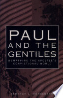 Paul And The Gentiles : salvation in several years, bible scholar terence...