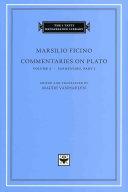Commentaries on Plato: Parmenides